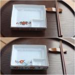 일본회접시 정사각(총4가지 디자인 입고)